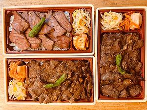 三四郎_料理4焼き肉弁当全種.jpg
