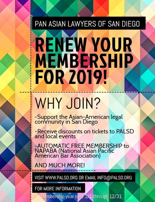 Renew your PALSD membership