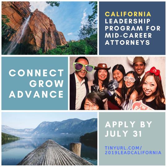 CA Leadership Program for Mid-Career Attorneys