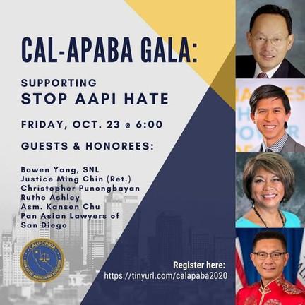 CAL-APABA Gala - Oct. 23