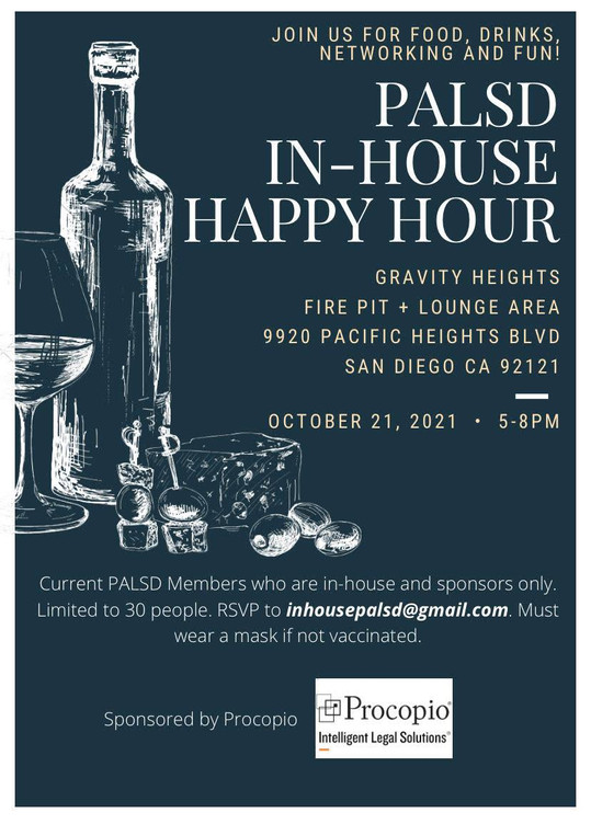 PALSD In-House Happy Hour