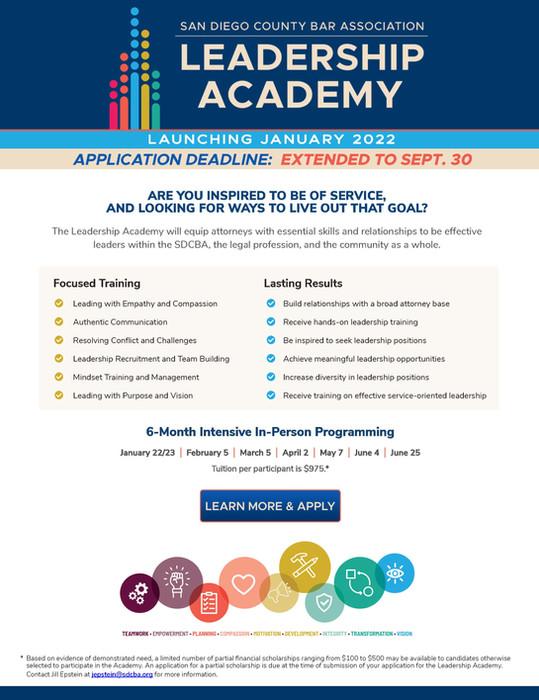 SDBCA Leadership Academy
