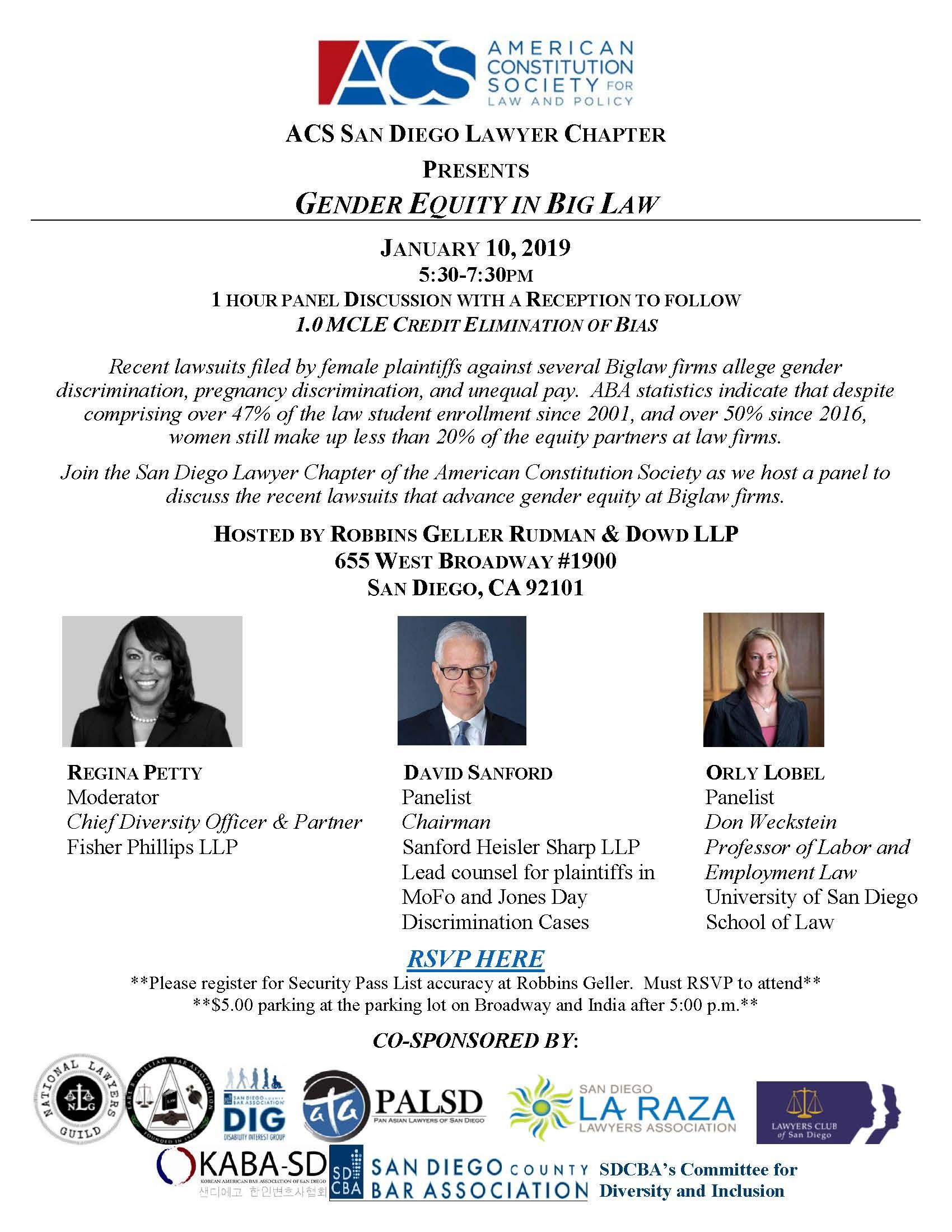 [FINAL] ACS Gender Equity Event set for
