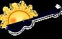 Sunset Blues Radio first logo