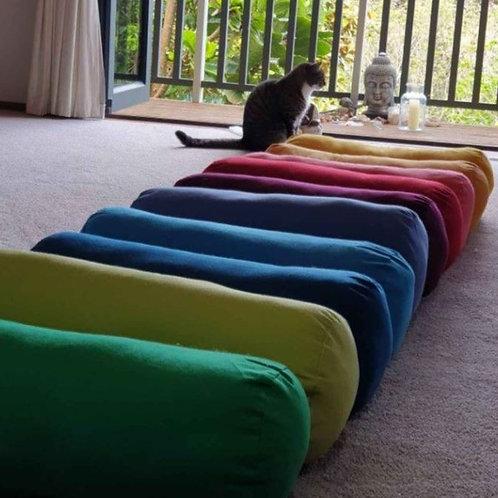 Yoga Bolster 600mm x 230mm New Colours