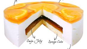 Jeju Omija Honey Jelly Mousse Cake