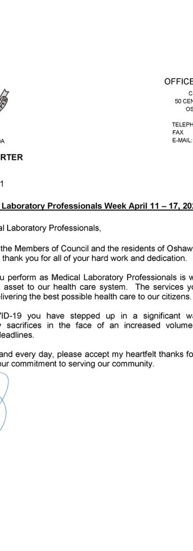 Thank You - Medical Laboratory Professio