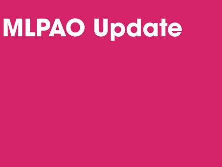 MLPAO Response to Ontario's COVID-19 Fall Preparedness Plan