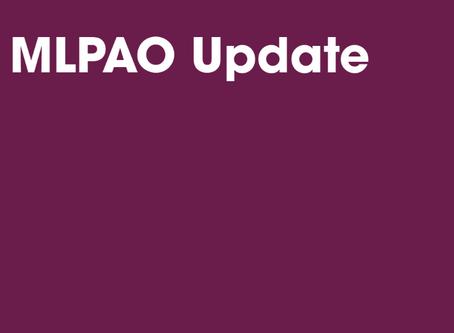 MLPAO Response to Ontario's Fall Pandemic Preparedness Plan
