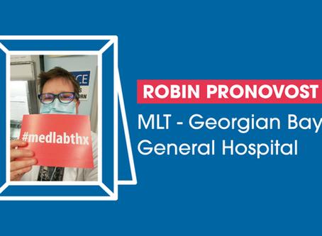 Member Profile: Robin Pronovost
