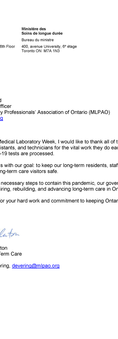 Minister of Long-Term Care reply_21-1638