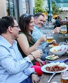 Gruppentreffen Restaurant