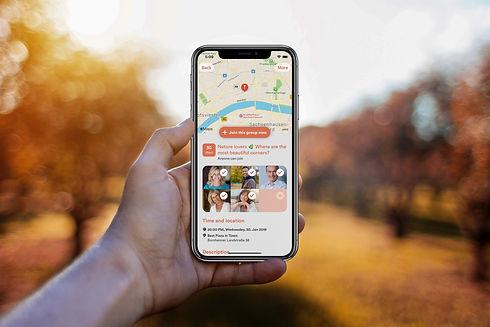 HandyScreen Meet5 Karte