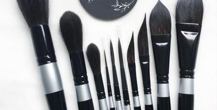 Silver Brush Black Velvet 30XXS