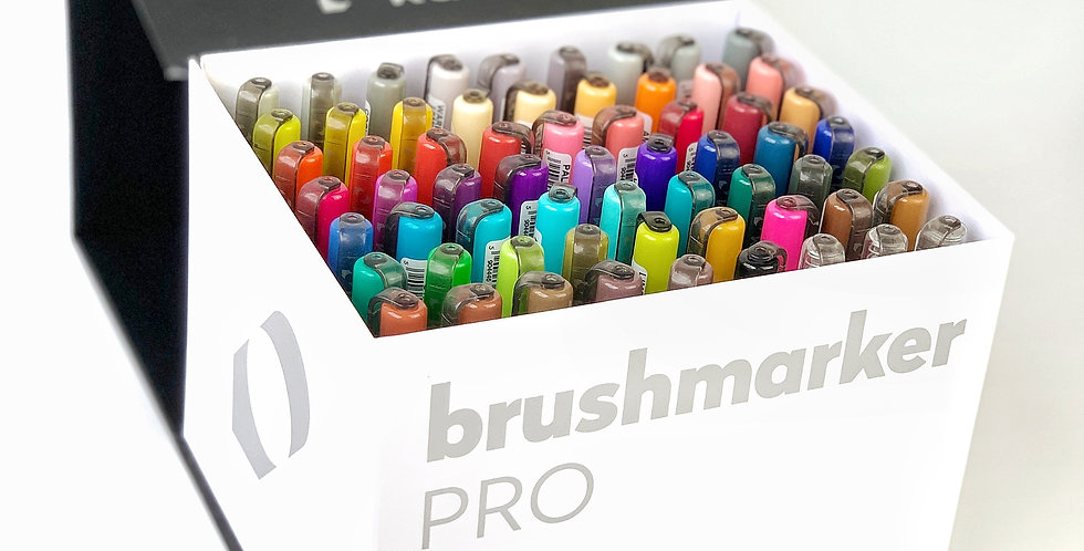 Karin Markers Brushmarker Pro Mega Box of 60