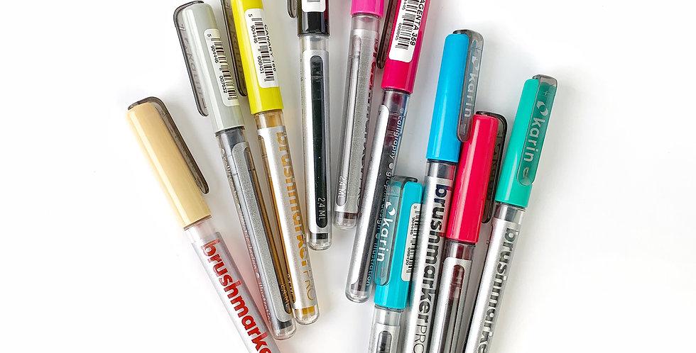 Karin Markers Brushmaker Pro Individual Pen