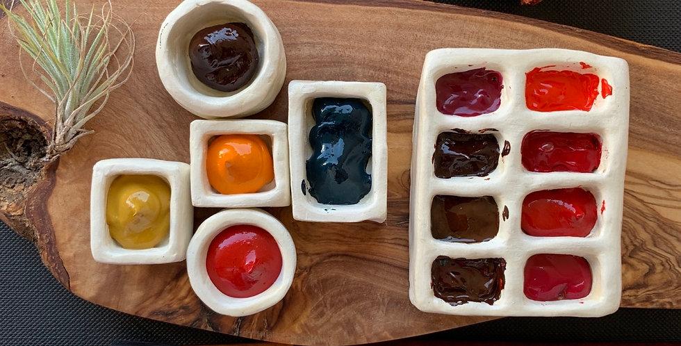QuiversmithPH Handmade Airdried Ceramic Pans