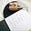 Thumbnail: Calligraphy Pad
