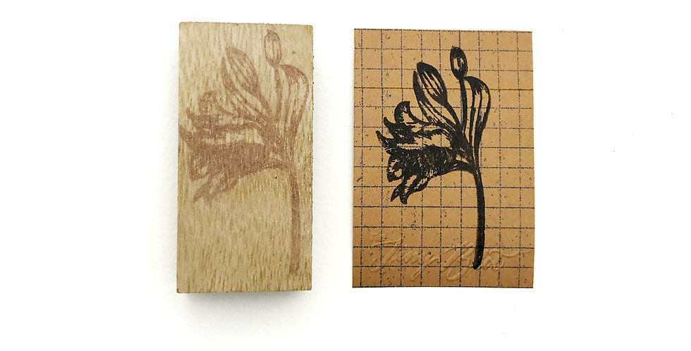 The Tiny Blot Rubber Stamp Series 1: Lily