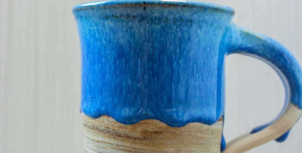 Drippy marbled mug
