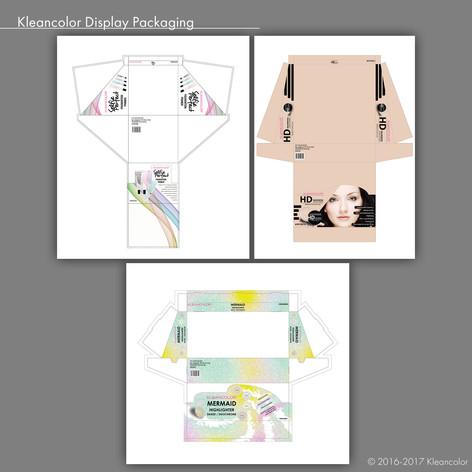 Kleancolor Display Packaging