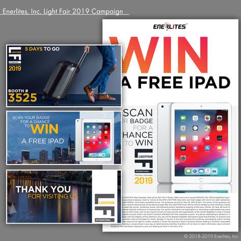 Enerlites, Inc. Light Fair 2019 Campaign