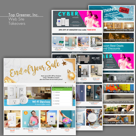 Top Greener Inc. Web Site Takeovers