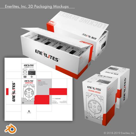 Enerlites, Inc. 3D Packaging Mockups