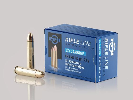 Riffilskot 0.30 Carbine - 50 stk