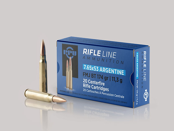 Riffilskot 7.65x53 Argentine