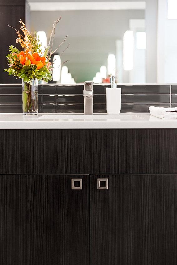 Calgary Modern Interior Design Master Bathroom Vanity 2