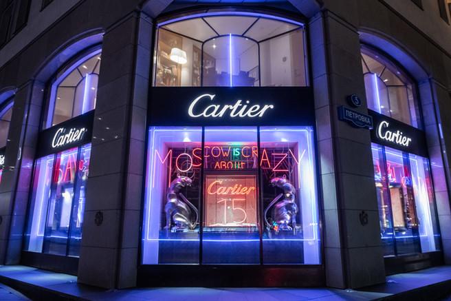 Cartier 15 лет в России