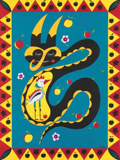 Змей Прокуситель и гордая птица