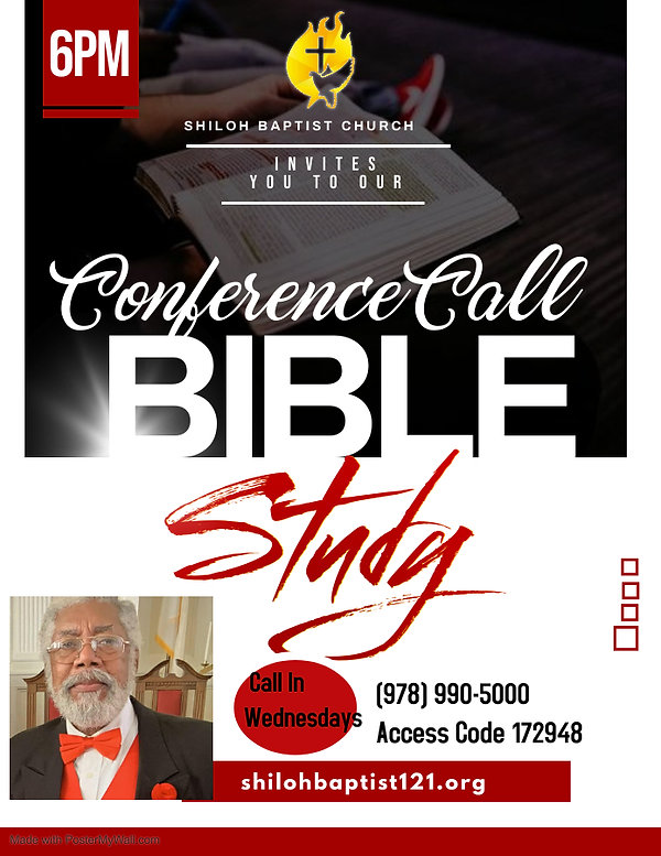 Copy of Bible study flyer - Made with Po