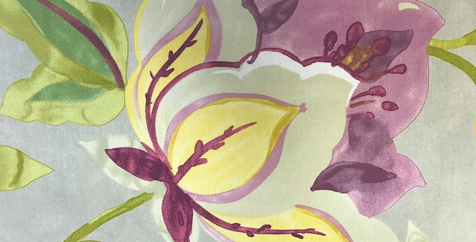 Modern Poetic - Gray, Purple, Green, and Yellow