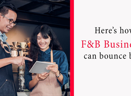 F&B Businesses are amongst those most hard-hit by Covid-19. This programme is the solution.