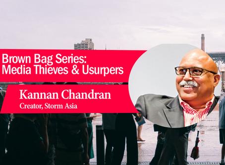 Brown Bag Series: Media Thieves & Usurpers