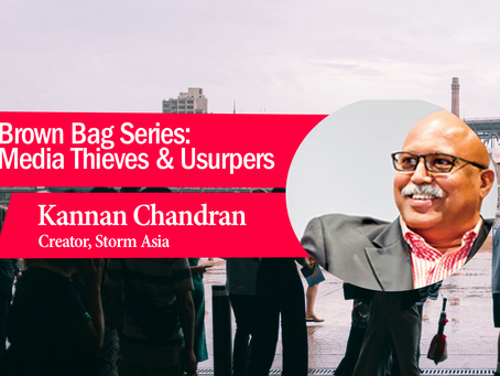 Brown Bag Series: Media Thieves & Usurpers