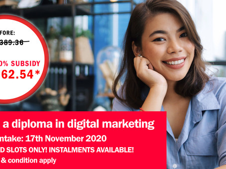 What's the value in earning  a Professional Diploma in Digital Marketing?