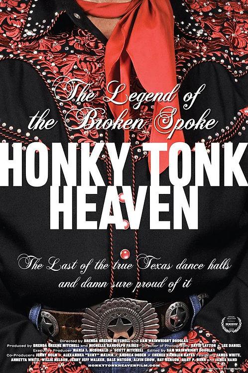 """""""HONKY TONK HEAVEN"""" DVD - BROKEN SPOKE DOCUMENTARY"""