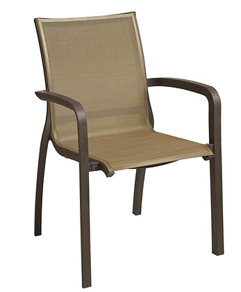 Sunset Stacking Chair bronze