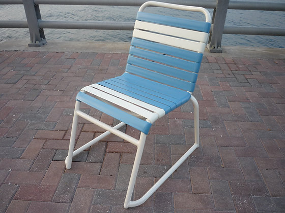 Classic Strap Armless Dining Chair