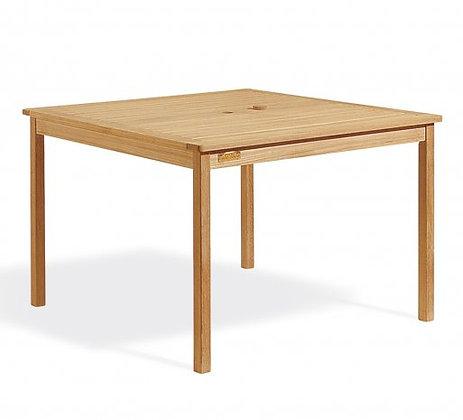 """42"""" Square Shorea Table Natural"""