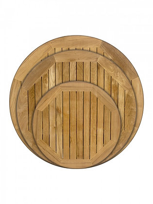 Teak Round Table Tops