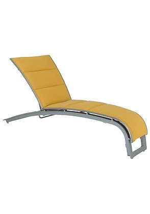 Flair Padded Sling Chaise Lounge