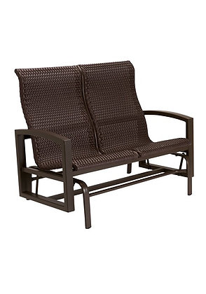 Lakeside Woven Double Glider