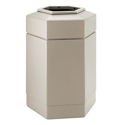 30 Gallon Hex Waste Receptacle