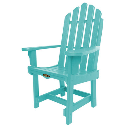 Essentials Adirondack Dining Chair with Arms
