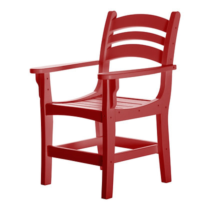 Adirondack Casual Dining Chair with Arms