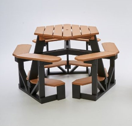 Hex Picnic Table 2